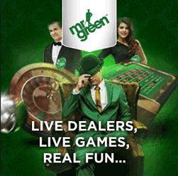 Mr Green gratis uitproberen